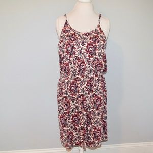 NWT LOFT Off White Floral Paisley Dress.